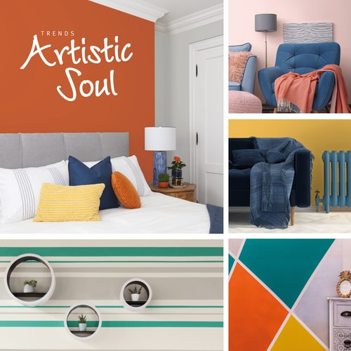 Paint Colour Trends: Artistic Soul